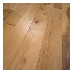 Hickory Hand Scraped Prefinished Engineered Wood Flooring, Sample