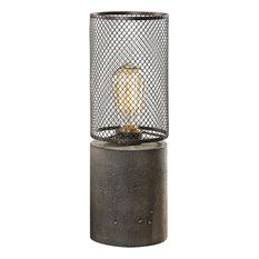 Uttermost Ledro Thick Concrete Lamp
