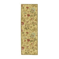 Gold Traditions Transitional Rug, 2.5'x8' Runner