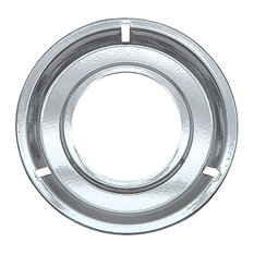 "Range Kleen 8.25"" Style G Chrome Drip Pan 1 Count"