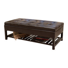 Merveilleux GDFStudio   Felix Rectangle Storage Bench With Bottom Rack   Accent And Storage  Benches