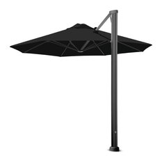 "11'6"" Oct Uno Black Widow Umbrella, Surface Plate"
