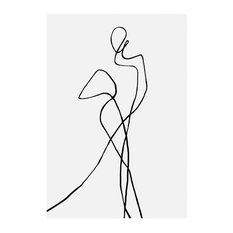 """Portofino"" Print by Peytil, 50x70 cm"