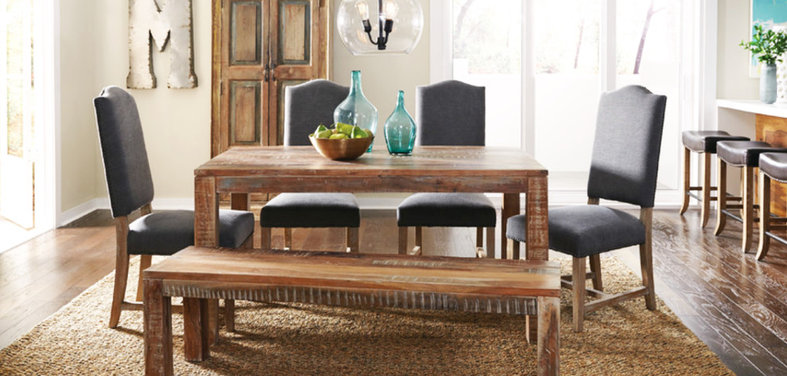 Shop Houzz Farmhouse Dining Tables And Chairs