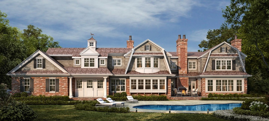 Country Estate - Shingle Style Home