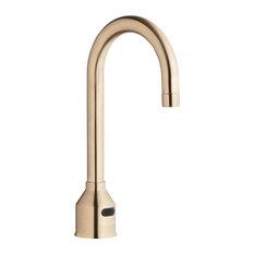 "Elkay Scrub/Handwash 5 5/8"" Deck Mount Sensor Faucet, LKB721CNC in Copper Nickel"