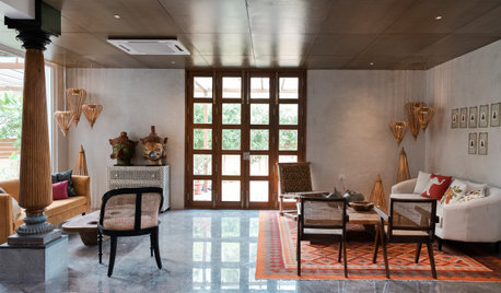 Hyderabad Houzz: A Modern Home With Traditional Twists & Accents
