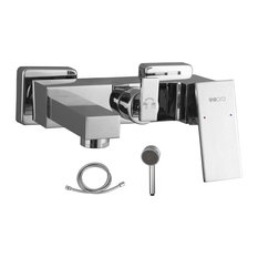 """Ucore Single Handle Bathtub Shower Mixer With Showerhead and 60"""" Hose"""