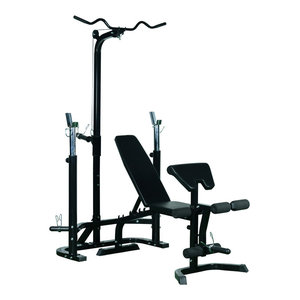 Soozier Complete Home Fitness Station Gym Machine With 100