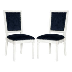 Buchanan Side Chair (Set Of 2) - Navy Creme