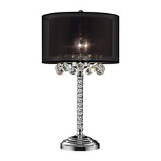 "30"" Effleurer Crystal Table Lamp"