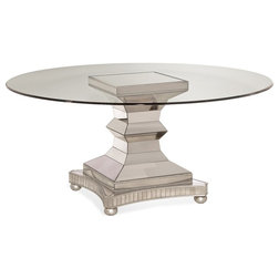 Traditional Dining Tables by BASSETT MIRROR CO.