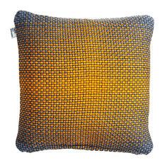 Simon Key Bertman Textile Design & Art - Double-Sided Gradient Cushion Cover, Yellow - Scatter Cushions