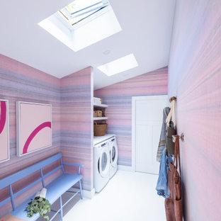 Idee per una lavanderia minimal