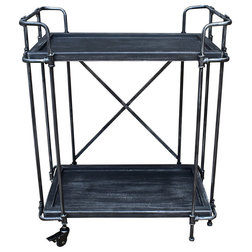 Industrial Bar Carts by GDFStudio