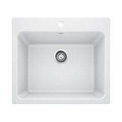 25 X22 X12 Blanco Liven Silgranit Laundry Sink White