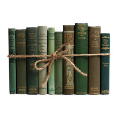 Decorative Books, The Antique Green ColorPak