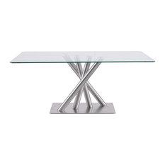 Global Furniture Usa Quadpod Base Dining Table