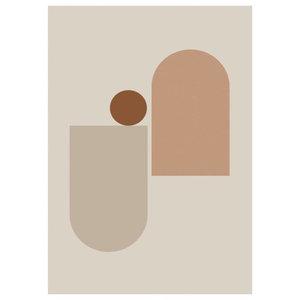"""""""New Form 2"""" Print by Riikka Kantinkoski, 42x59,4 cm"""