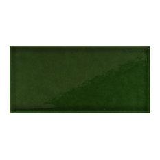 Racing Wall Tile, Gloss Green, 1 m²