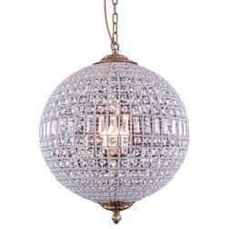 Traditional Chandeliers by Designer Lighting and Fan