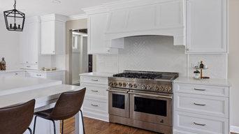Northville White Kitchen
