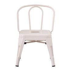 Children's Metal Chair, Pink