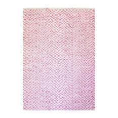 Aperitif Handwoven Area Rug, Pink, 120x170 cm