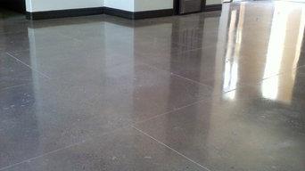 Floor concrete polishing (condominium )