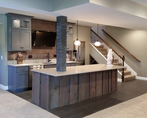 Best Modern Basement Design Ideas Remodel Pictures Houzz
