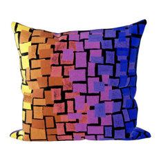 Liora Manne Visions II Ombre Tile Accent Pillow, 20  x20