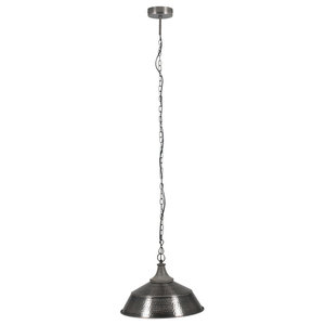 Sarasota Pendant Ceiling Light Antique, Silver Finish
