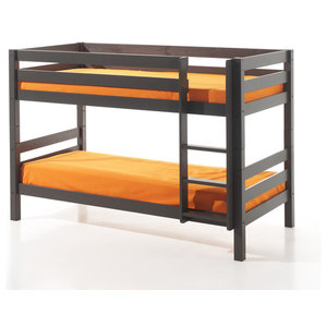 Pino Low Bunk Bed, Taupe