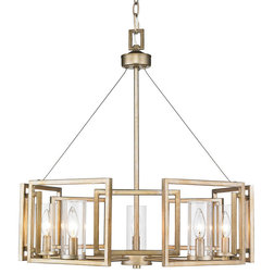 Transitional Chandeliers by Golden Lighting