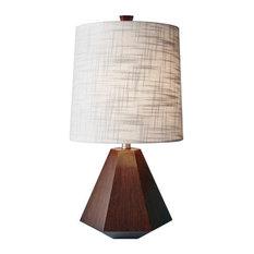 "Adesso 1508 Grayson 1 Light 25""H Table Lamp - Wood"