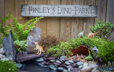 Garden Tour: A Mini Dino Park Designed for a 3-Year-Old
