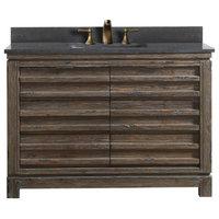 """Legion Furniture Single Sink Vanity, Rustic Brown, 48"""""""
