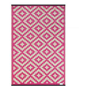 Nirvana Indoor/Outdoor Rug, Pink and Cream, 150x240 cm