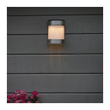 Outdoor Wall Lamp Boston LED with Solar Energy IP44