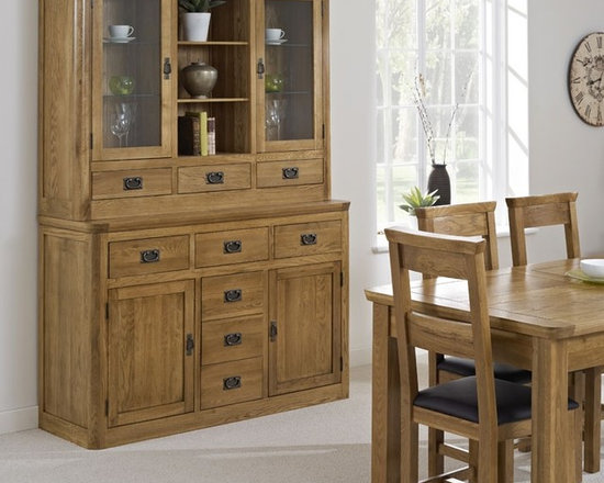 Knightsbridge Oak Large Dresser