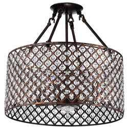 Contemporary Flush-mount Ceiling Lighting by Edvivi