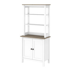 Mayfield 5 Shelf Bookcase With Doors