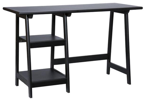 Desks And Hutches Gavin Desk, Black