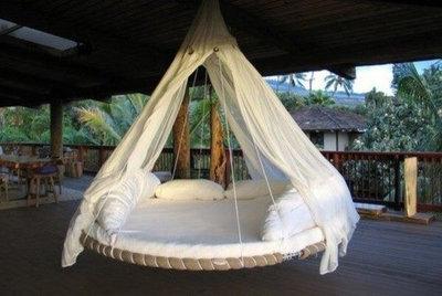 Tropical Patio Deck lounger