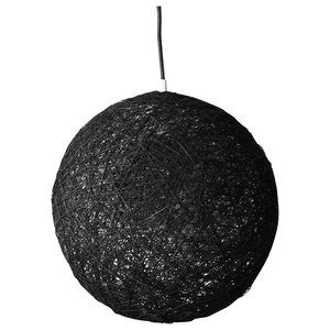 Sphere Wall Light, Black, Small