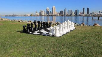 Giant Chess at Coronado