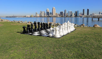 Giant Chess at Coronado