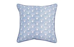 Blue Bobo Scales Pillow