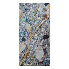 "Mosaic Wall Art, Cordelia, 18""x35"""