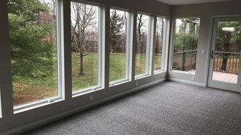 Sunroom Addition and Deck